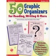 Scholastic® 50 Graphic Organizers For Reading, Writing & More Professional Book, Grades 4 - 8