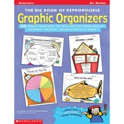 Scholastic® The Big Book Of Reproducible Graphic Organizers Professional Book, Grades K - 12