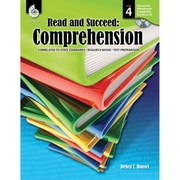 "Shell Education ""Read and Succeed: Comprehension"" Level 4 Book, Language Arts/Reading"