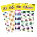Silver Lead-Sandy Lion Chart Sticker Variety Pack