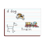 "Patch Products Smethport Lauri 11"" x 8"" Lined Magnetic Dry Erase Board"