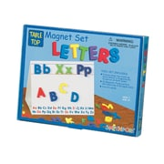 Smethport® Magnetic Table Top Letters Activity Set, Magnetic Letters