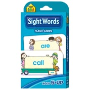 "School Zone® Interactive® ""Sight Words"" Flash Cards, Word Recognition"