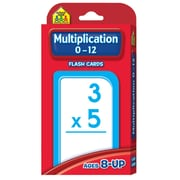 School Zone® Flash Card, Multiplication 0 - 12