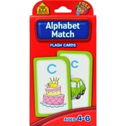 School Zone® Interactive® Alphabet Match Flash Cards, Letter Recognition
