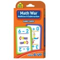 School Zone® Publishing Math War Addition & Subtraction Game Cards, Grades Kindergarten - 3