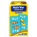 School Zone® Publishing Math War: Multiplication Game Cards, Grades 2 - 7