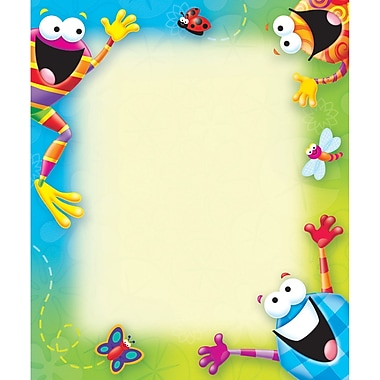 Trend Enterprises® 50 Sheets Notepad, Rectangle Frog-Tastic, 6 1/2