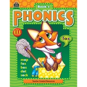Teacher Created Resources Phonics Book 1, Language Arts/Reading
