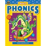 Teacher Created Resources Phonics Book 2, Language Arts/Reading