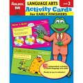 The Mailbox® Language Arts Activity Cards For Early Finishers, Grades 3