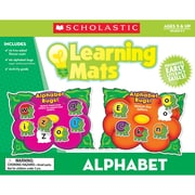 Teacher's Friend® Alphabet Learning Mats, Letter Recognition