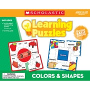 Scholastic® Teacher's Friend Colors & Shapes Learning Puzzle