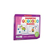 Teacher's Friend® Zoo Animals Magnetic Pattern Blocks, Grades K - 2