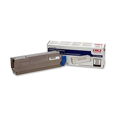 Okidata 43324404 Black Toner Cartridge, Type C8