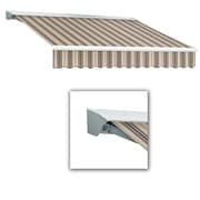 Awntech® Destin® LX Left Motor Retractable Awning, 10' x 8', Taupe Multi
