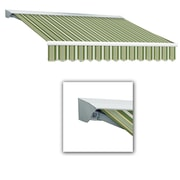 "Awntech® Destin® LX Left Motor Retractable Awning, 14' x 10' 2"", Forest/Gray/Tan"