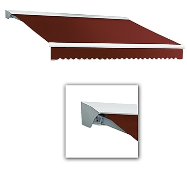 Awntech® Destin® EX Left Motor Retractable Awning, 12' x 10', Terracotta