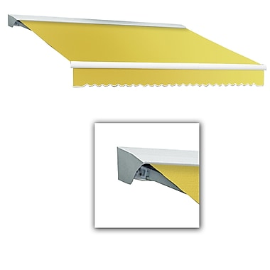 Awntech® Destin® LX Manual Retractable Awning, 8' x 7', Light Yellow