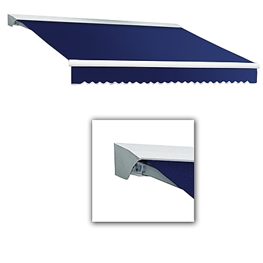 Awntech® Destin® LX Right Motor Retractable Awning, 12' x 10', Navy