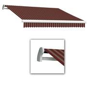 "Awntech® Maui® LX Manual Retractable Awning, 16' x 10' 2"", Burgundy/Tan"