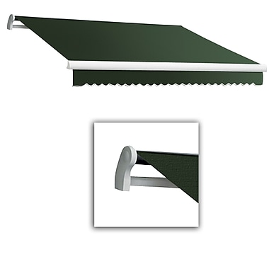 Awntech® Maui® LX Manual Retractable Awning, 8' x 7', Olive