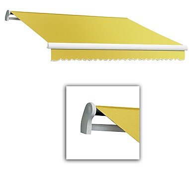 Awntech® Maui® LX Right Motor Retractable Awning, 10' x 8', Yellow
