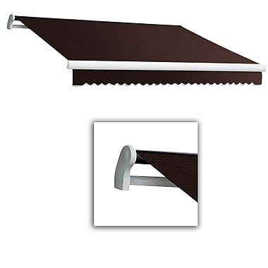 Awntech® Maui® LX Left Motor Retractable Awning, 10' x 8', Brown