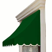 "Awntech® 20' Nantucket® Window/Entry Awning, 44"" x 36"", Forest"