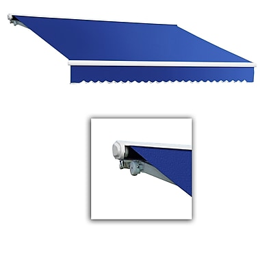 Awntech® Galveston® Right Motor Retractable Awning, 10' x 8', Bright Blue