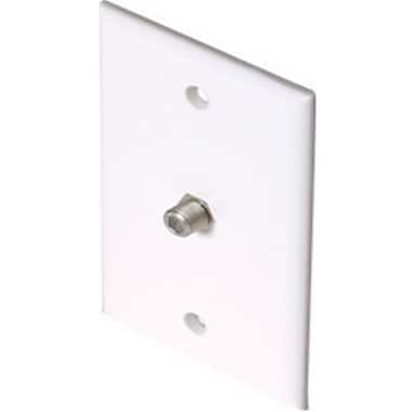 STEREN-CUSTOM INSTALL Standard TV Wall Plate, White