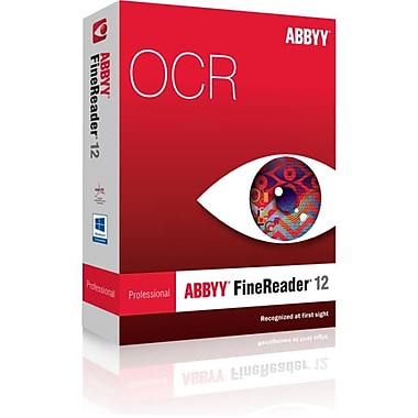 ABBYY USA SOFTWARE HOUSE INC 12 Professional Edition FRPFW12B FineReader