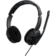 Roccat Kulo Stereo 14-602 Over-the-Head Gaming Headset with Microphone, Black