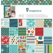 American Crafts™ 12in. x 12in. Imaginisce Paper Pad, Perfect Vacation
