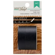 American Crafts™ 10 Yard DIY Shop Washi Tape, Chalk Vinyl, 2 Roll/Pack