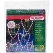 """Beadery® Holiday Beaded Ornament Kit, 7"""" x 6"""" x 1"""", Folk Heart"""