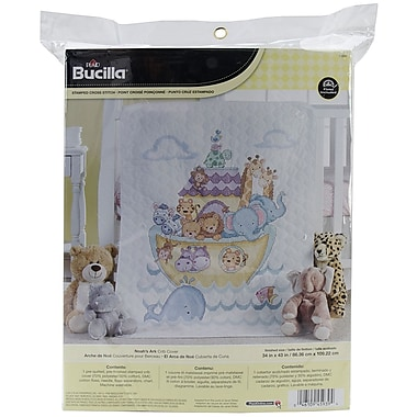 Bucilla® Noah's Ark Crib Cover 10