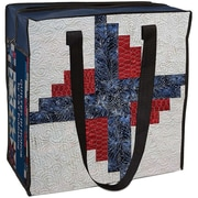 C&T Publishing 15 H x 15 1/2 W x 8 D Quilted In Honor Eco Tote