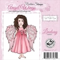 Cindy Echtinaw Designs™ Angel Wings 3 1/4in. x 4in. Mounted Cling Stamp, Lindsay