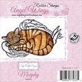 Cindy Echtinaw Designs™ Angel Wings 4in. x 2 1/2in. Mounted Cling Stamp, Murphy