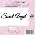 Cindy Echtinaw Designs™ Angel Wings 3 1/2in. x 1in. Mounted Cling Stamp, Sweet Angel