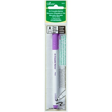 Clover Thick Air Erasable Bold Point Marker, Purple