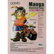 Copic Marker® 8.3 x 11.7 A4 Manga Illustration Papers, Natural White