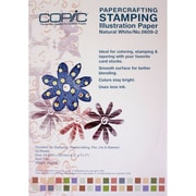 Copic Marker® 8.3 x 11.7 A4 Stamping Illustration Papers, Slightly Off-White