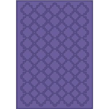 Craftwell® eBosser A4 Size Embossing Folder, Quatrefoil
