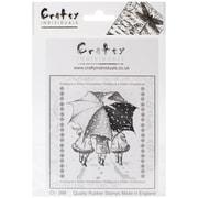 """Crafty Individuals 4 3/4"""" x 7"""" Unmounted Rubber Stamp, Winter Wonderland"""