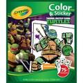 Crayola® Color 'N Sticker in.Teenage Mutant Ninja Turtlesin. Book, 10.1in. x 8.5in. x 0.2in.