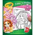 Crayola® Color 'N Sticker in.Palace Petsin. Book, 10.1in. x 8.5in. x 0.2in.