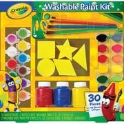 "Crayola® Washable Kid's Paint Kit, 12.2"" x 11.8"" x 2"""