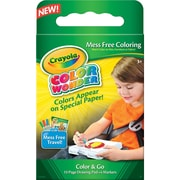 "Crayola® Color Wonder® Mess Free Color & Go Kit, 9.2"" x 5.5"" x 0.8"""